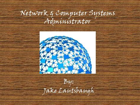 career coach network and computer systems administrators