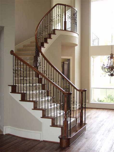 Discount Stair Parts 27 Best Images About Ribbon Twist Iron Baluster Stair