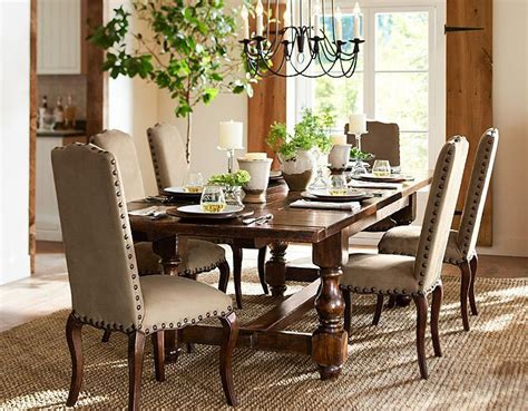 pottery barn dinning chairs images dining room pottery barn table give an