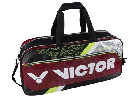 Tas Badminton Victor Ag 511 F Original br9602 c tas produk victor indonesia merk bulutangkis dunia