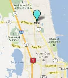 where is mims florida on map hotelguides