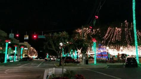 florida christmas lights downtown ocala marion county