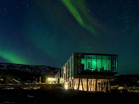 northern lights iceland best hotel northern lights business insider