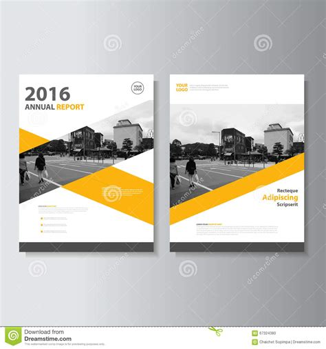 jacket design layout brochure design a4 vector template cartoon vector