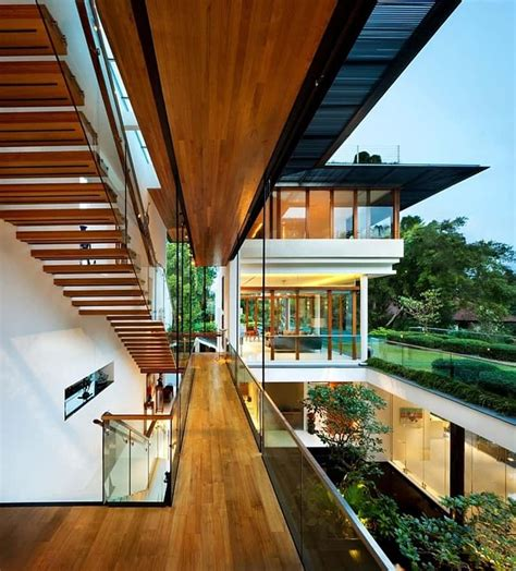 guz architects modern tropical bungalow dalvey road house by guz architects
