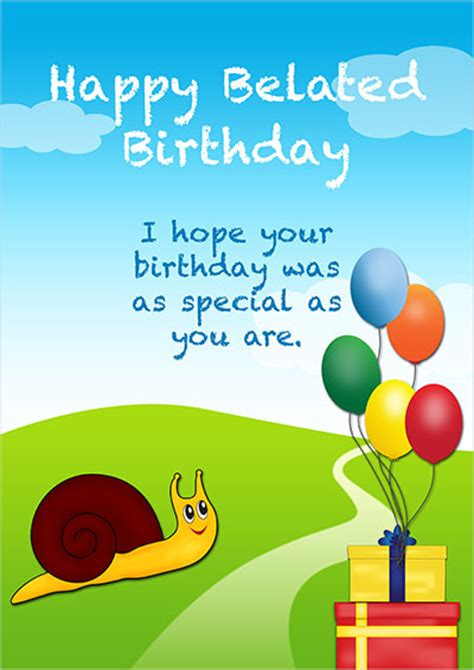 free belated birthday card templates free printable cards for every occasion