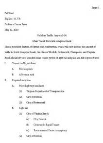 The scaffold upon which you ll structure your paper the outline