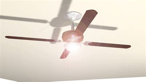 How To Fit A Ceiling Light How To Install A Light On A Ceiling Fan 11 Steps With Pictures