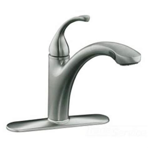 kohler k 10433 vs stainless forte kitchen faucet with