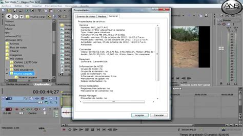 sony vegas pro tutorial how to put pictures over videos tutorial sony vegas pro 12 parte 1