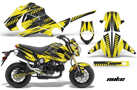 Honda Killer Sticker by Honda Grom 125 Graphics Dirt Bike Decals Honda Grom