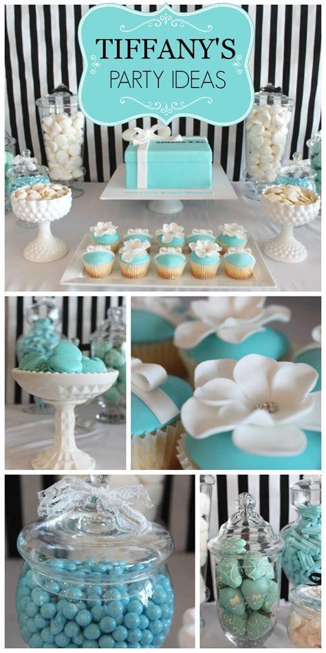 Tiffany themed bridal shower ideas