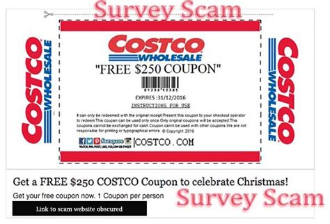 light phone promo code costco quot free 250 coupon quot survey scam hoax slayer