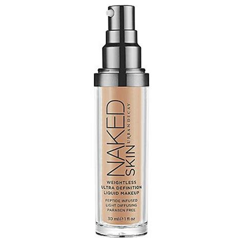 Foundation Naked7 decay skin weightless ultra definition liquid