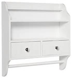 white shelf with towel bar taymor 20 quot inch bathroom powder room bath furniture wall