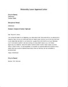 Going Back To Work After Maternity Leave Letter Template by Maternity Leave Approval Letter Writeletter2