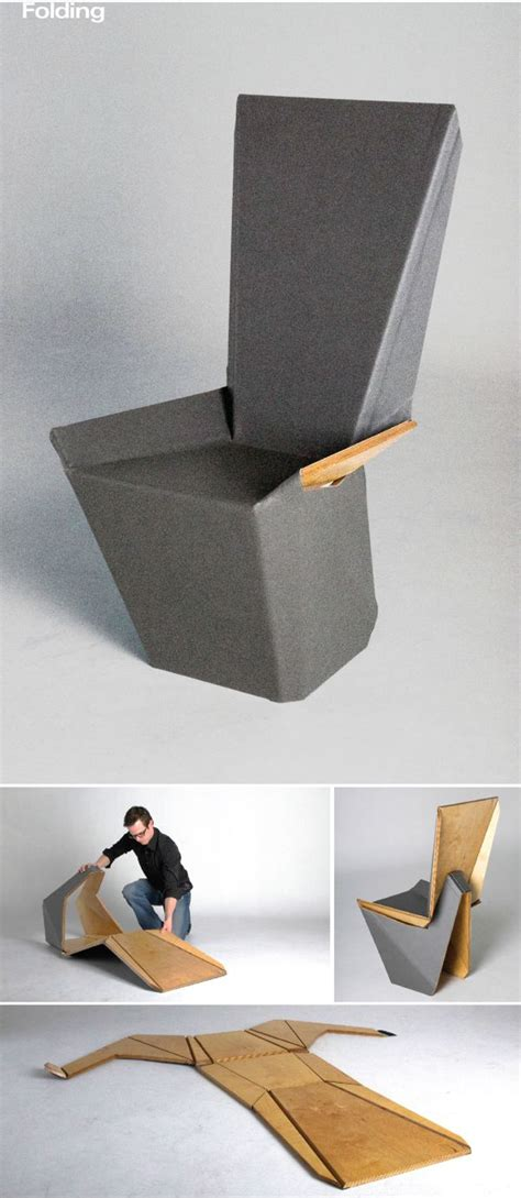 Folding Paper Chair - 25 best ideas about folding furniture on