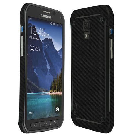 Carbon Samsung Galaxy S5 skinomi techskin samsung galaxy s5 active carbon fiber