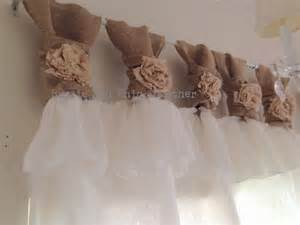 White Burlap Curtains White Linen And Burlap Ruffles Curtains Wide Ruched Tabs