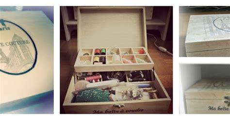 my shabby chic home sewing box costurero