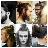 model rambut diikat 36 model rambut gondrong yang terpopuler sai sekarang