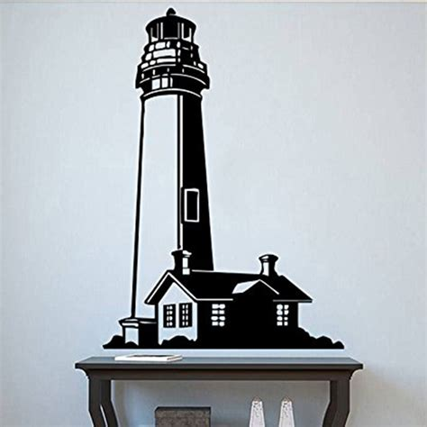 large lighthouse wall stickers lighthouse wall decal