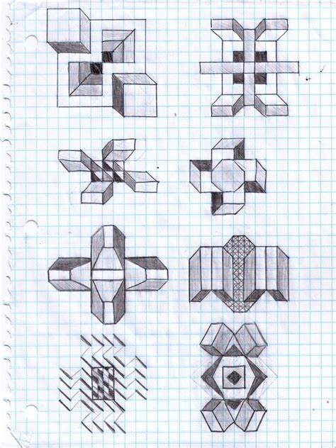 graph drawing graph paper graph paper graph paper and doodles