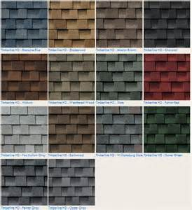 roofing colors gaf timberline hd roofing shingle color options contact