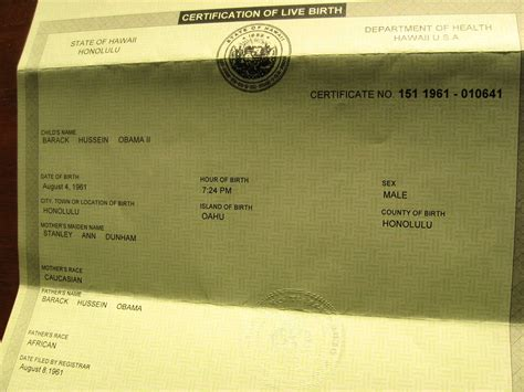 Hawaii Birth Certificate Records Obama Birth Certificate Missing Did Factcheck Annenberg