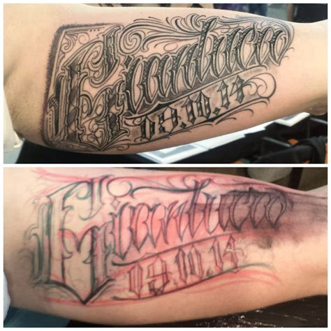 tattoo lettering artists philippe d 233 las certified artist