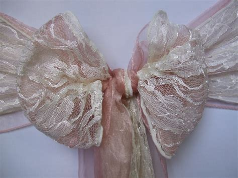 organza chair sashes to hire in cornwall