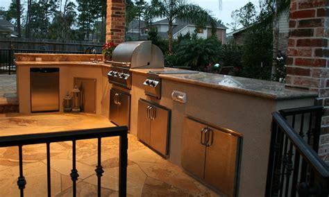 houston outdoor kitchens spring   woodlands arbor