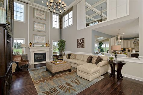 family room accessories two story fireplace fireplaces and window treatments on