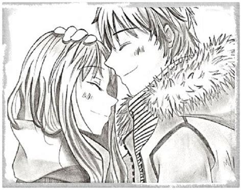 imagenes a lapiz de amor anime imagenes de anime de amor a lapiz archivos imagenes de anime