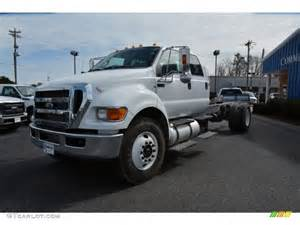 2015 oxford white ford f750 duty xlt crew cab