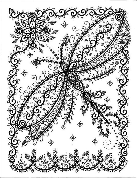 Dragonfly Coloring Book Pages by Dragonfly Coloring Colouring Printable Advanced