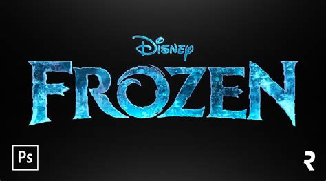 tutorial logo frozen tutorial photoshop efeito de texto quot frozen quot disney s