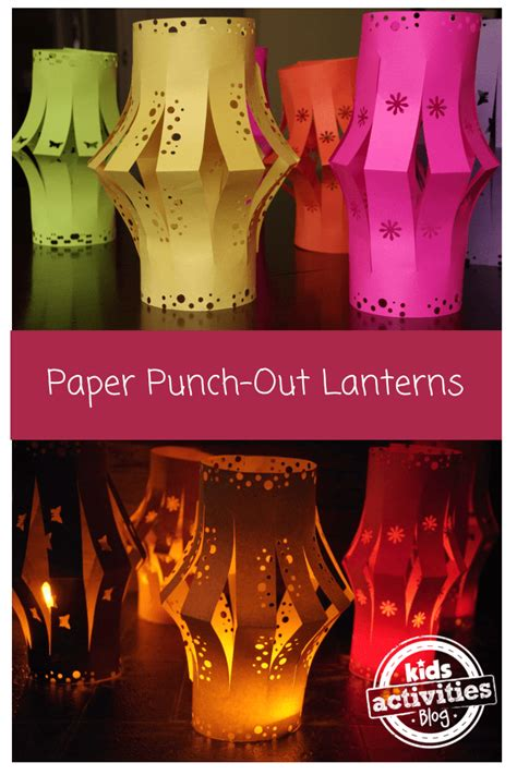 A Lantern Out Of Paper - 10 beautiful lantern crafts that can make in the