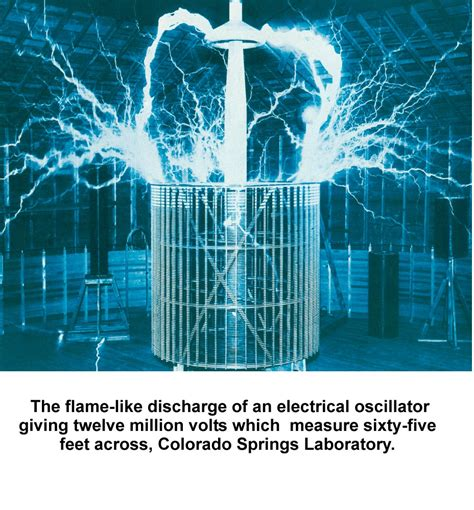 Application Of Tesla Coil Tesla Discovered The Tesla Coil In 1891 At The Turn Of
