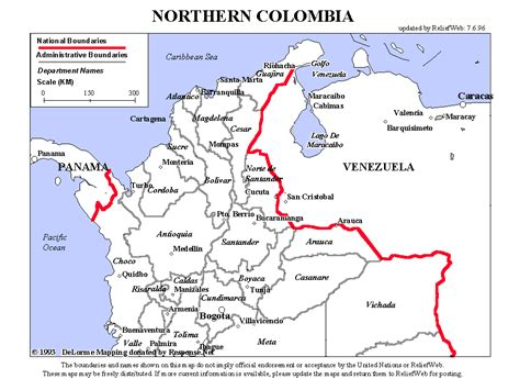 northern texas map colombia ecoi net european country of origin information network