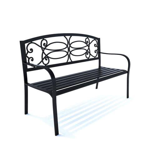 park bench metal metal park bench 3d model cgtrader com