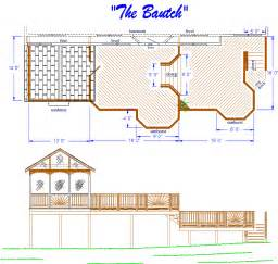 Showing picture free deck plans timbertech
