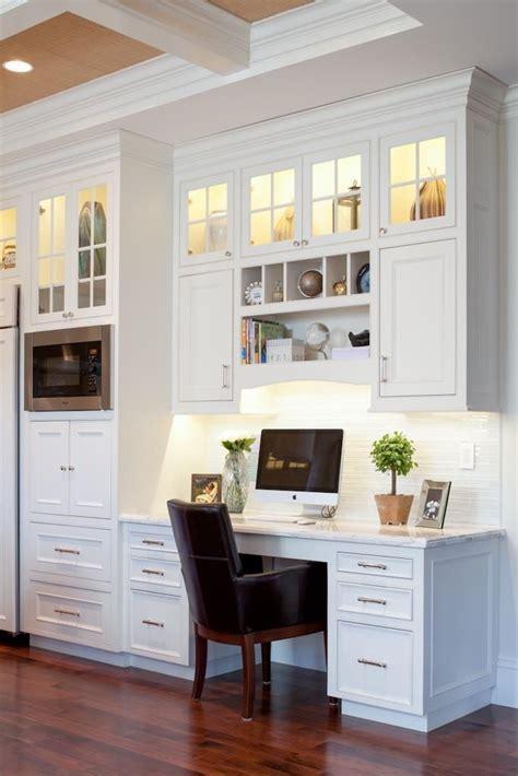 kitchen office ideas 17 best ideas about kitchen desk areas on