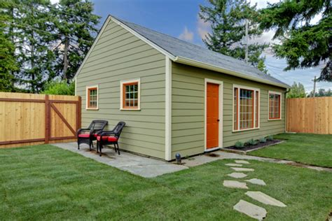build a small guest house backyard creating a separate guesthouse for summer visitors