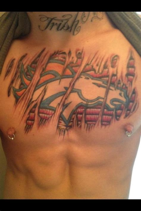 bronco tattoos 1000 ideas about denver broncos on