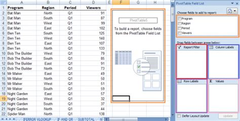 online pivot table tutorial excel 2010 microsoft excel 2010 pivot table exercise microsoft