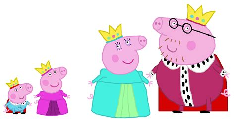 puppy pig peppa pig images royal family peppa pig hd wallpaper and background photos 38453999