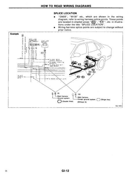free auto repair manuals 1994 infiniti g interior lighting 1994 infiniti q45 engine diagram wiring diagram for free