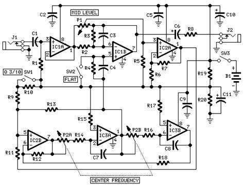 Tone Kontrol Stereo Bifet Jrc4558 Midrange guitar or bass midrange page168