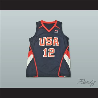 Ammar Code At 34 Size Xs S amar e stoudemire 12 team usa basketball jersey
